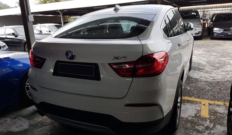 BMW X4 2.0 full